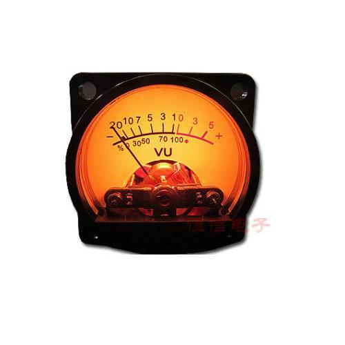 Dykb 1 x painel vu medidor de luz traseira quente amplificador de potência indicador & nível de áudio amp db mesa dc 6v-12v para placa de motorista