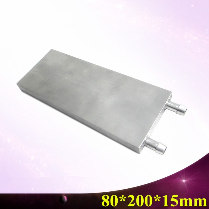 KOOLASON 160/200/250*80*15 мм ПК Ant S9 Шахтер машина с водяным охлаждением охладитель Алюминий блок М-образный термоэлектрический радиатор