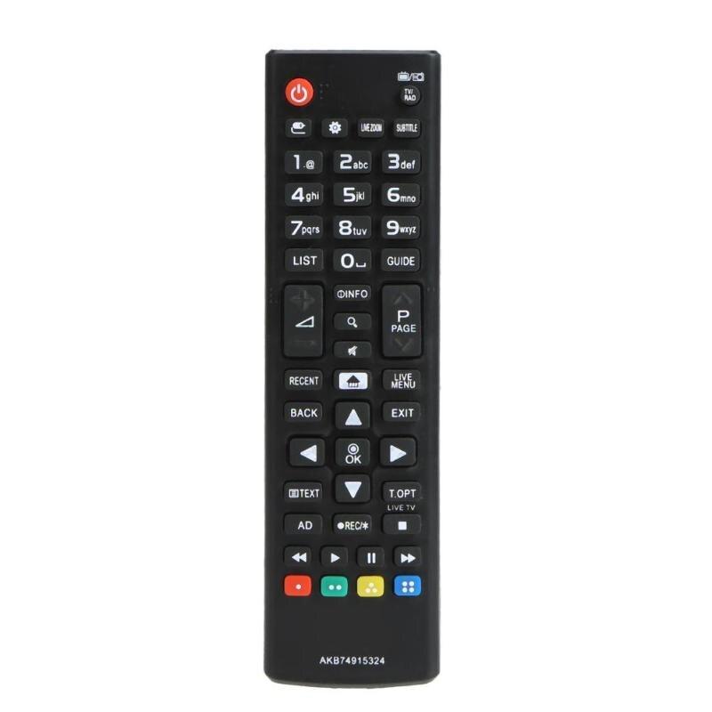 ABS de 433MHz inteligente inalámbrico de Control remoto de televisión remoto para LG AKB74915324 LED controlador de TV LCD envío de la gota