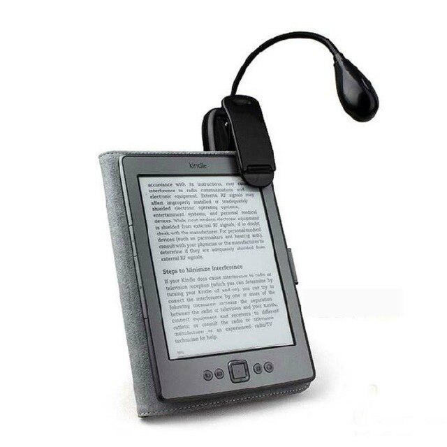 Lectura libro luz para Ebook Ereader Kindle para Pocketbook Lámpara de lectura lámpara de escritorio gran oferta