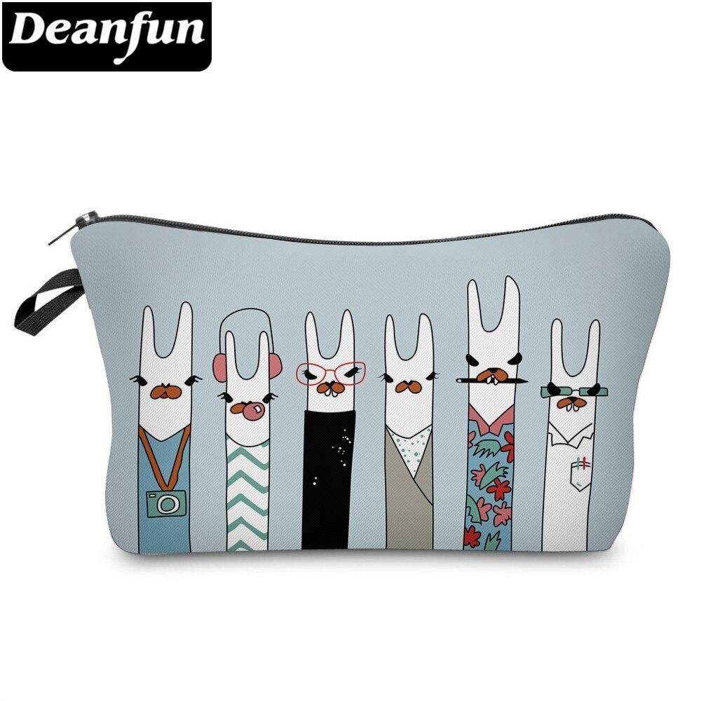 Deanfun модный Llamas косметичка, водонепроницаемые косметички, косметички, чехол-карандаш для женщин для путешествий 51431