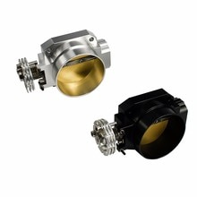 Collecteur dadmission universel pour nissan RB25   85MM, corps daccélérateur universel pour nissan RB25 fit racing argent/noir YC100850