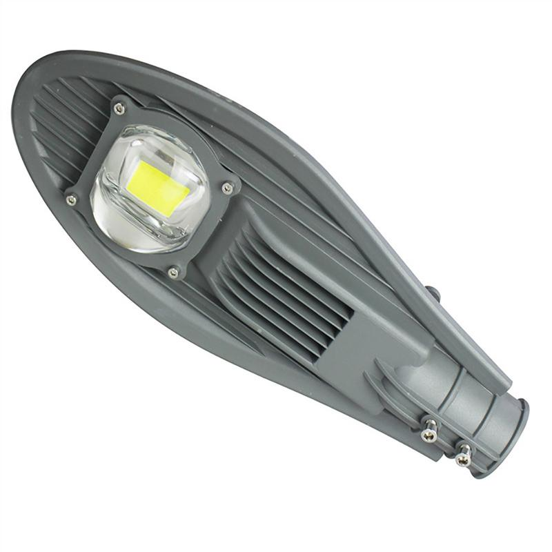 1PCS Waterproof IP65 50W Led Street Light AC165-265V Led Streetlight Road Garden Lamp Warm/Cold White Led Spotlights Wall Lamp