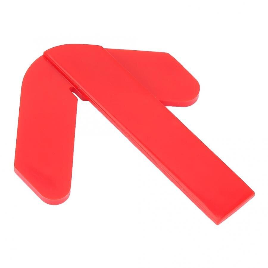 Cuchara digital Rojo ABS Centro de plástico buscador Circular Centro buscador de puntos Centro de medición herramienta de alimentos escala
