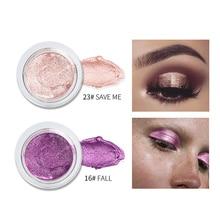 Wholesale 25 Color Jelly Eye Shadow Gel Cream Brightening Wet Eye Shadow Highlight Paste Monochrome Glitter Eyeshadow TSLM2