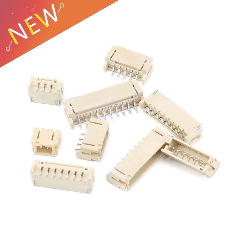 50 PCS 2 milímetros Tomada Horizontal 2 milímetros Arremesso Patch Conector SMT SMD PH2.0 2.0 milímetros Arremesso Conector SMD 2 P 3 P 4 P 5 P 7 6 P P P P 10 9 8 P