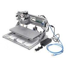 Original CNC 3018 3 Achse Mini DIY CNC Router Standard Spindel Motor Holz Gravur Maschine Fräsen Stecher Aluminium Legierung Rahmen