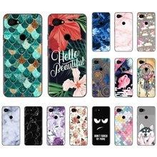 Back Phone Case For Google Pixel 3A / Pixel 3 Lite Stylish Design Colorful Pattern Soft Phone Case