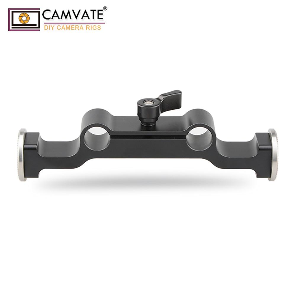 Abrazadera de varilla CAMVATE con ARRI Rosette C1466-Black