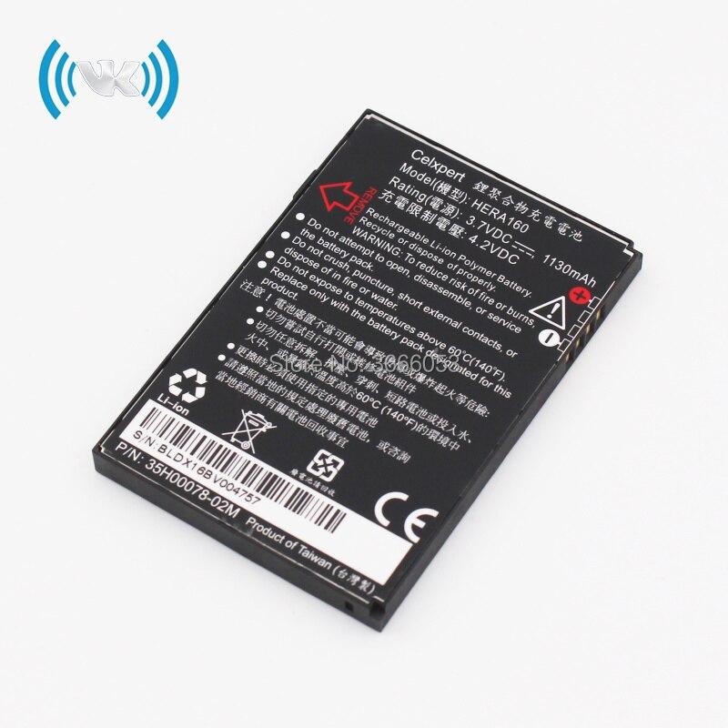 VK nueva 1130mAh 3,8 V HERA160 batería de repuesto para la batería de C800 C858 Atlas Herald 100 P4350 P4351 O2 o 2 XDA Terra Bateria RechargeLi-ion