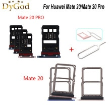 For Huawei Mate 20 Pro SIM Card Tray Slot Holder Adapter Repair Accessories For Huawei Mate 20 With