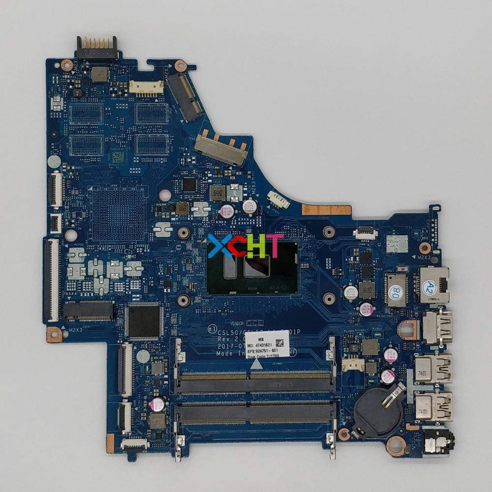 924751-601 924751-001 LA-E801P UMA w i5-7200U وحدة المعالجة المركزية ل HP كمبيوتر محمول 15-BS سلسلة 15T-BR000 دفتر PC اللوحة اللوحة