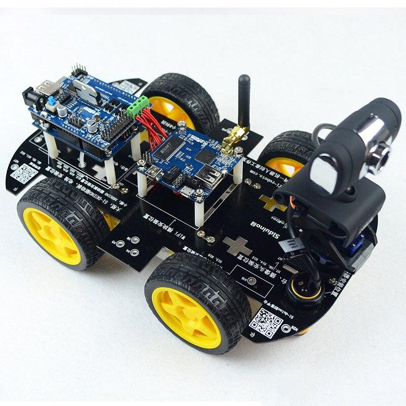 DS робот Wifi робот-автомобиль с камерой FPV умный танк, машина для arduino с управлением через приложение iOS/Android