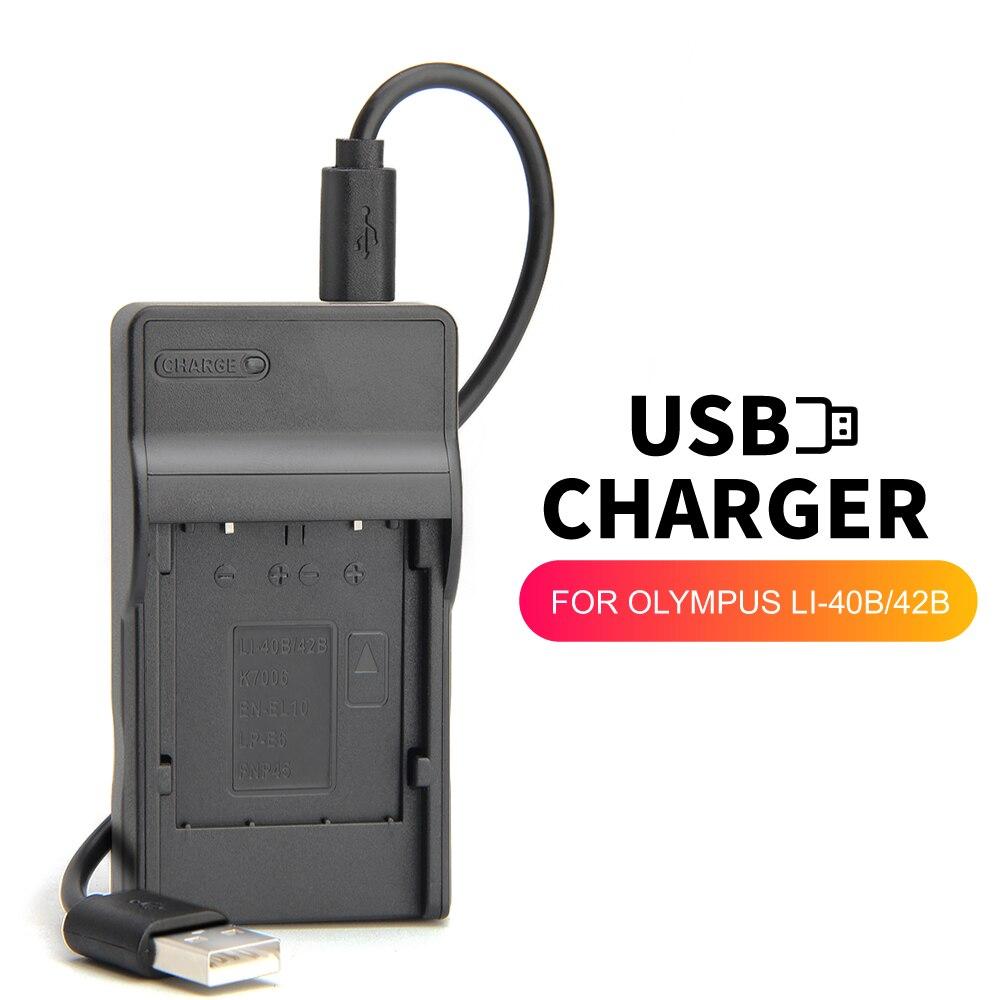 USB zhenfa cargador de batería para NIKON EN-EL10 MH-63... MH63 Coolpix S570...