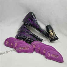 Neue Maruman Majestät Prestigio 9 Golf Club Head Covers Fahrer Fairway Woods #3 #5 Irons #5- PAS Putter Komplette Set Headcovers