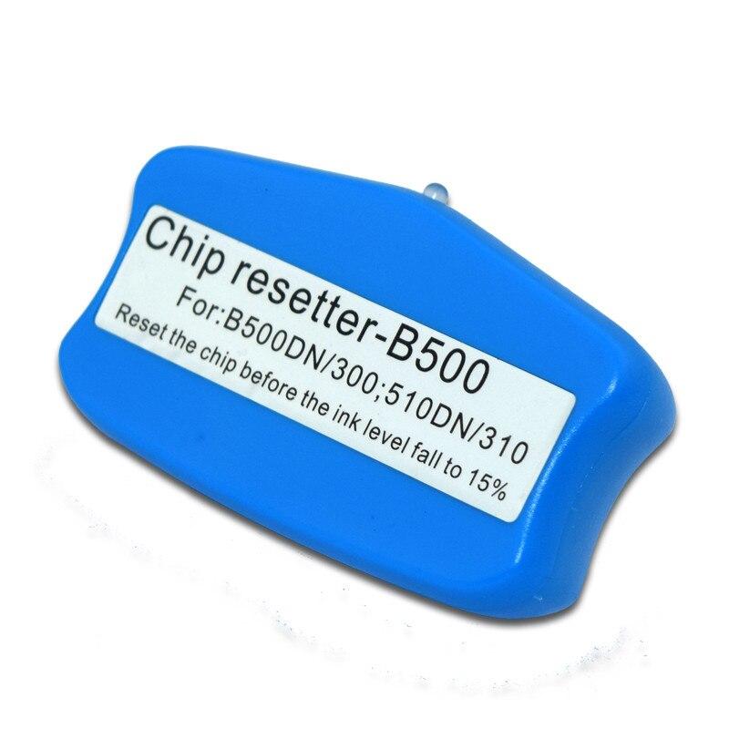 1 قطعة خرطوشة رقاقة ريسيتر لإبسون B300 B500 B310 B510 طابعة الحبر خرطوشة