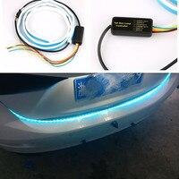 Car Led trunk strip RGB strip Light for renault megane 2 3 duster/logan/captur/2016 laguna 2 clio fluence kadjar