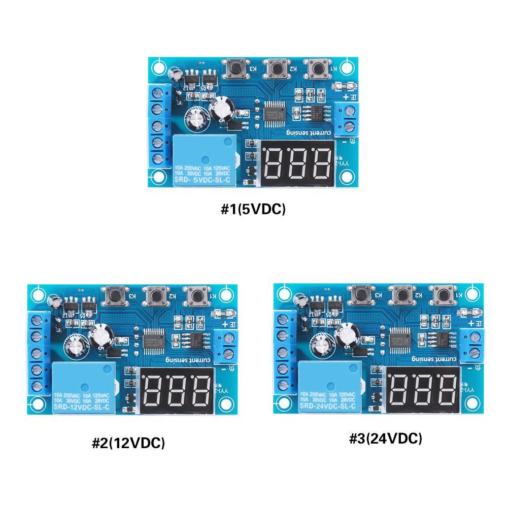 5/12./24V CC 0-10A Módulo de detección de corriente, relé de sobrecorriente, módulo de detección de corriente