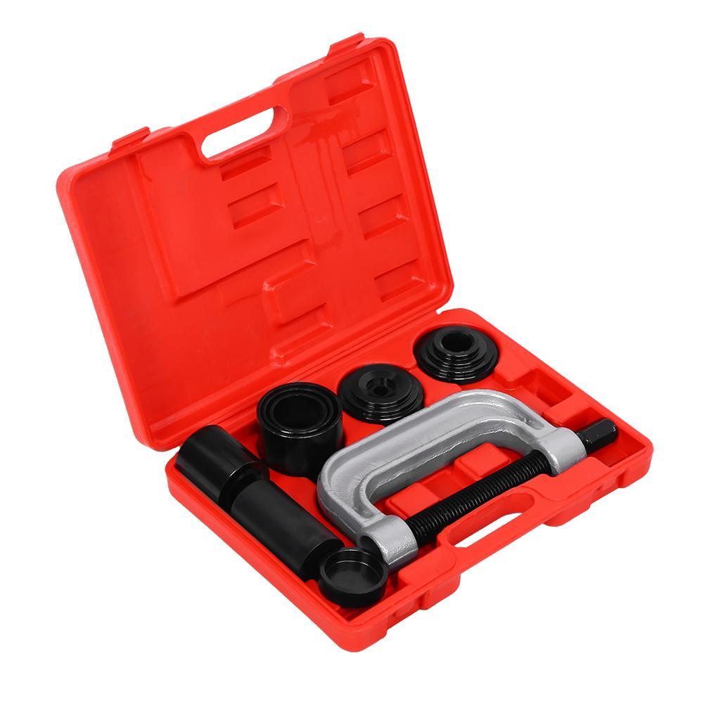 10 Uds 4 en 1 Kit de servicio de lujo de junta de bola 2WD/4WD herramienta de reparación de automóviles con funda para 4WD servicio de junta de bola/Reparación de acero de carbono