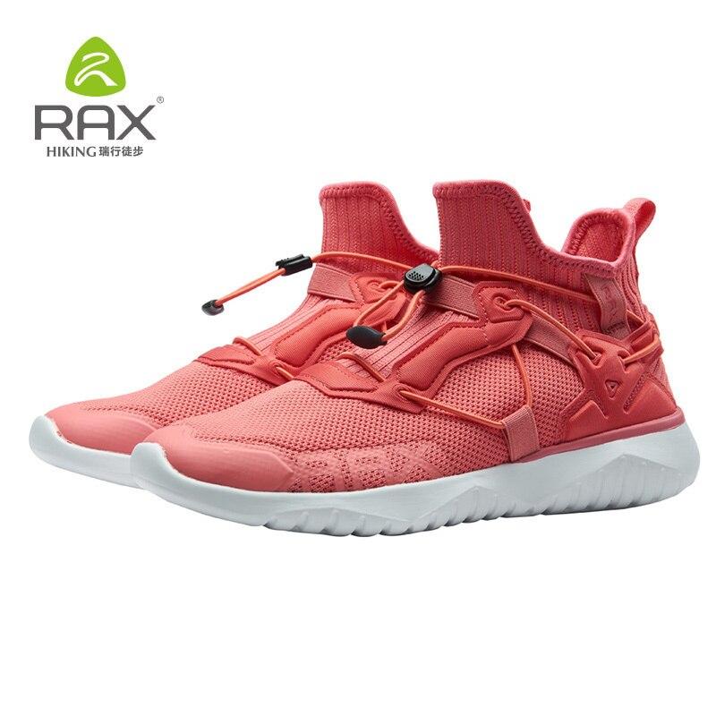 Rax, zapatos de invierno para correr para mujer, zapatillas ligeras para deportes al aire libre, zapatillas transpirables para caminar para mujer, zapatillas de entrenamiento para correr para chica