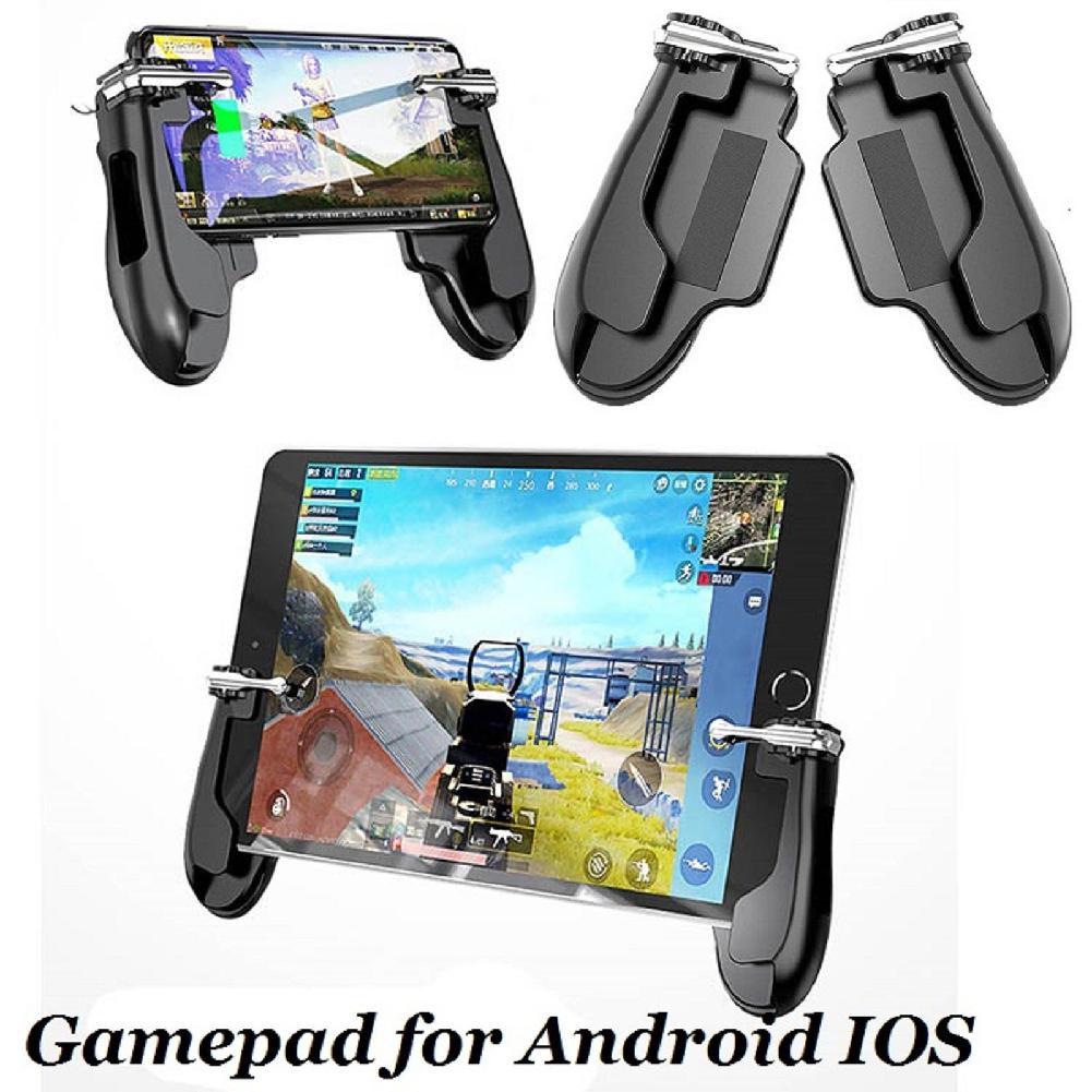 EastVita H2 Controlador Joystick Gamepad para Gatilho Atirador PUBG Móvel para iPad IOS Android smart phones tablets r20