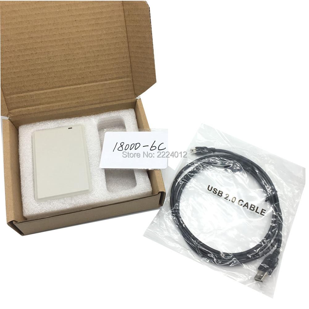 جديد ISO18000 860Mhz ~ 960Mhz UHF RFID ISO 18000 6C 6B قارئ الكاتب ل 18000-6B 18000-6C ناسخة شبيه EPC GEN2 مع SDK كيت
