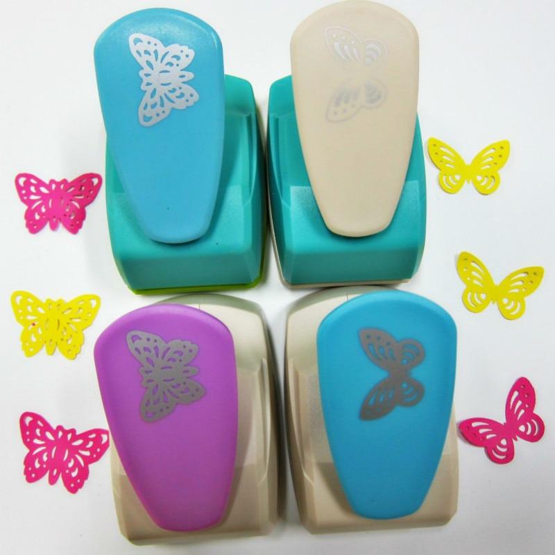 1 шт. большая бабочка 5 см Ремесло Дырокол Furador eva пенопластовый перфоратор детские игрушки Diy машина для резки бумаги инструменты для скрапбукинга тиснение