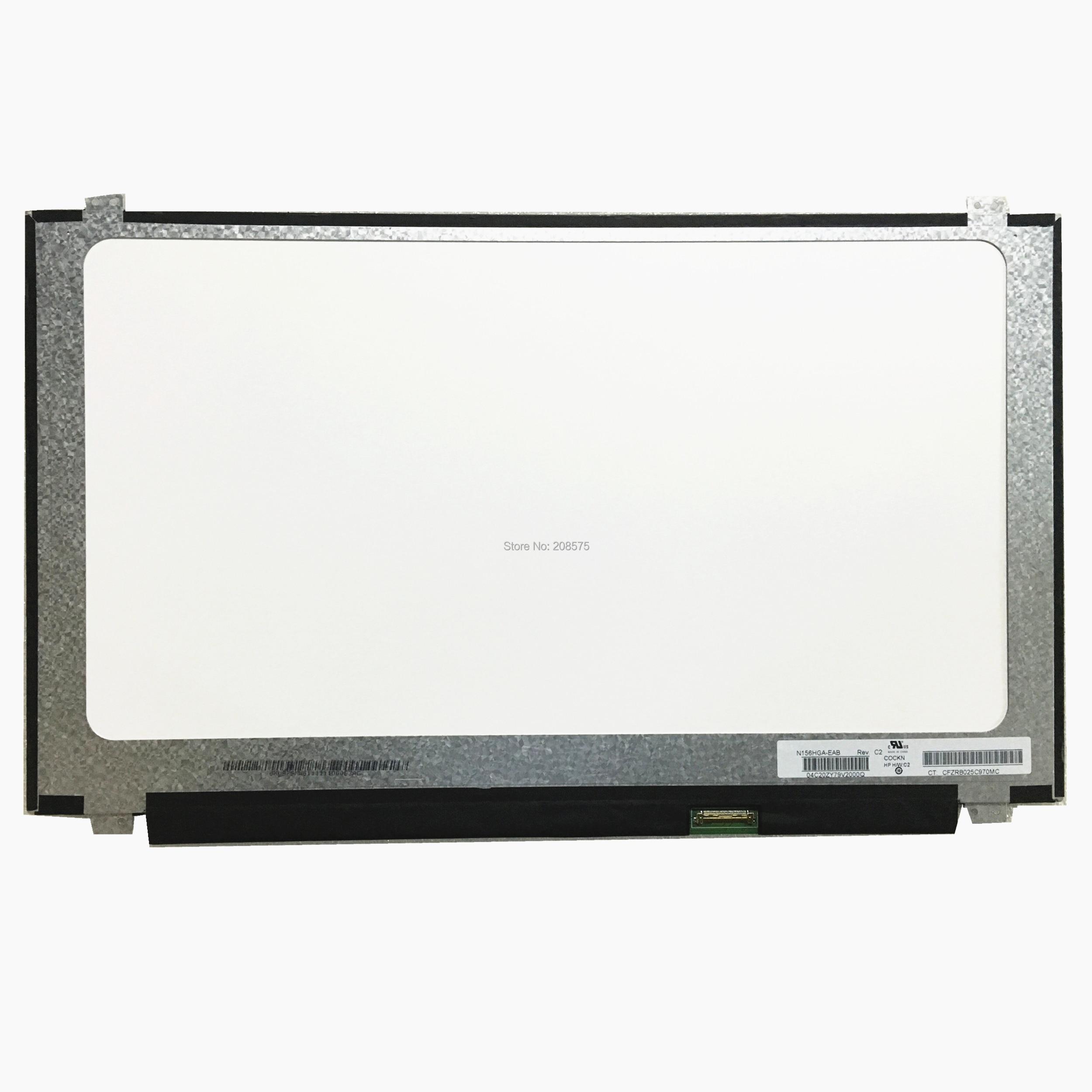 شحن مجاني N156HGA-EAB N156HGE EAB N156HGE انحسار N156HGE EAL N156HGE-EA1 EA2 EB1 محمول lcd شاشة 1920*1080 EDP 30pin