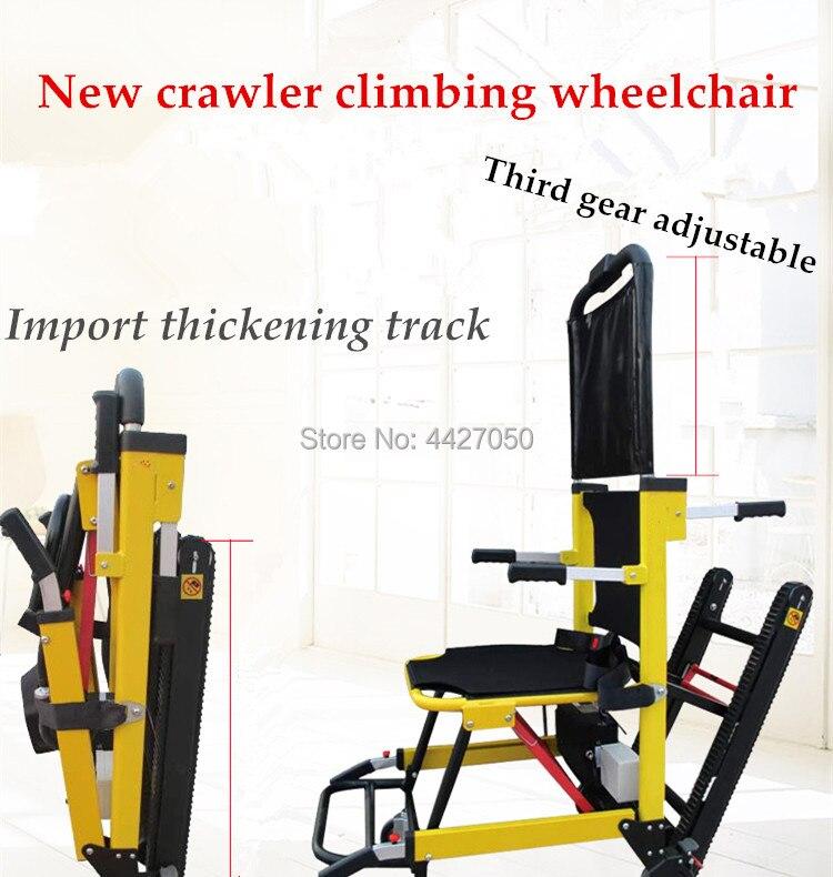 Superventas de 2019, silla de ruedas automática para subir escaleras, subir y bajar escaleras para personas con discapacidad