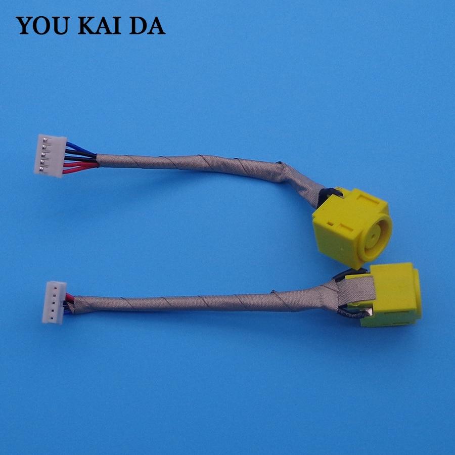 1 pièces connecteur de prise cc pour Lenovo Thinkpad X220 X220I X230 X230I câble de prise de courant cc