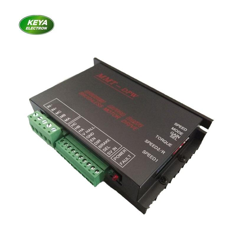 Precio de fábrica de CC de baja tensión conductor de motor sin escobillas 24v 100w 150w motor dc sin escobillas controlador sensor hall 10/50DPW15BL