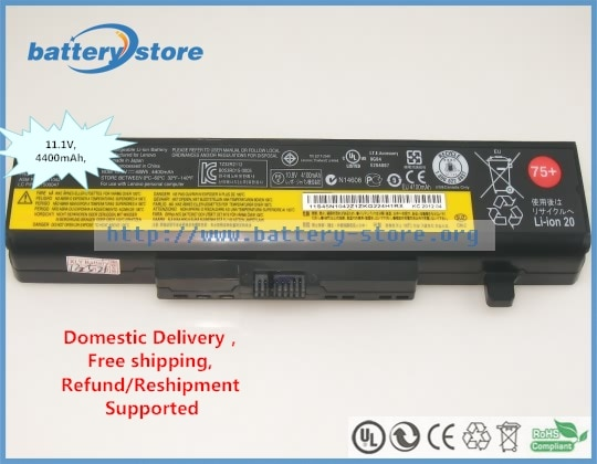 Orijinal L11M6Y01 LENOVO için batarya ThinkPad E531, E445, E540, LENOVO Thinkpad Edge E530, E430 11.1 V, 4400 mAh, 48 W,