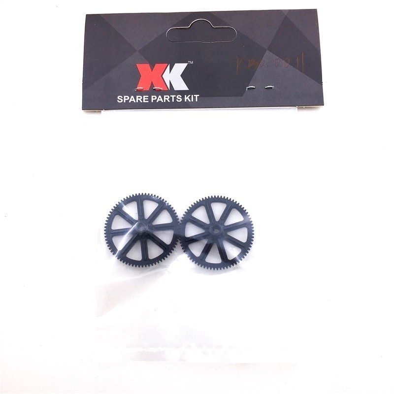 2pcs/bag Plastic Main Gear for XK K130 RC Helicopter Spare Parts K130.0011