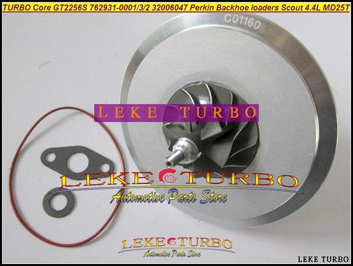 Cartucho TURBO CHRA Core GT2256S 762931-0001, 762931, 32006047, 762931-0003, 762931-0002 Perkin retroexcavadora cargadoras Scout 4,4 MD25T