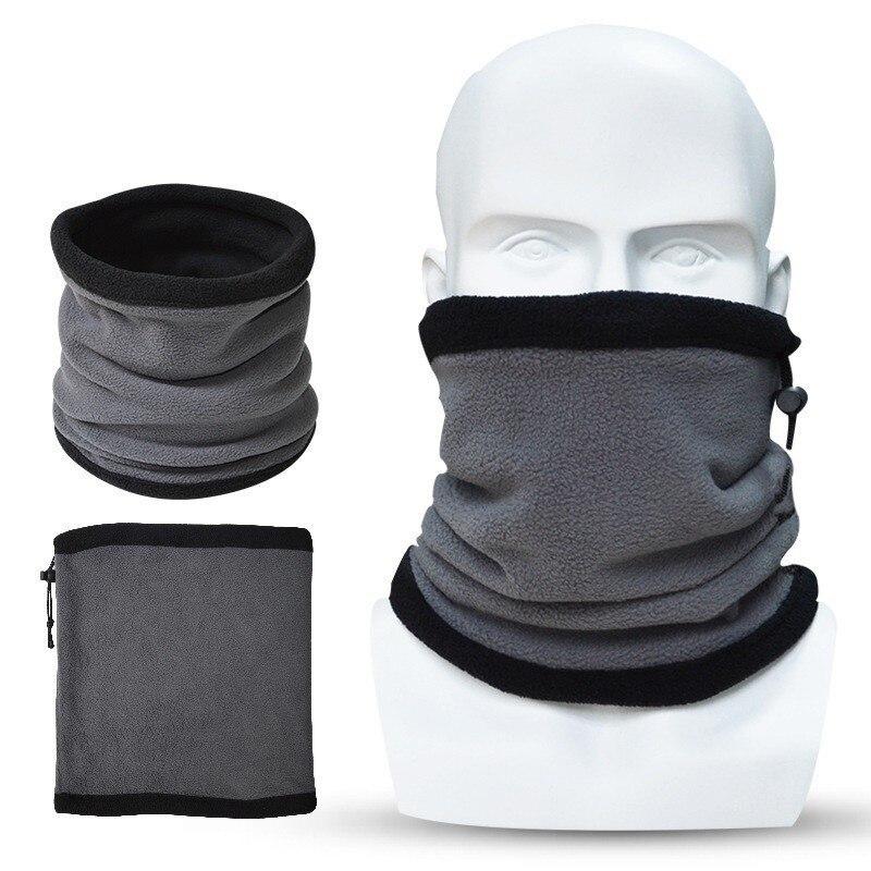 JAMONT Projeto Popular Camadas Duplas Multipurpose Polar Neck Warmer Ear Warmer, Máscara Chapéu Para A Promoção braga cuello