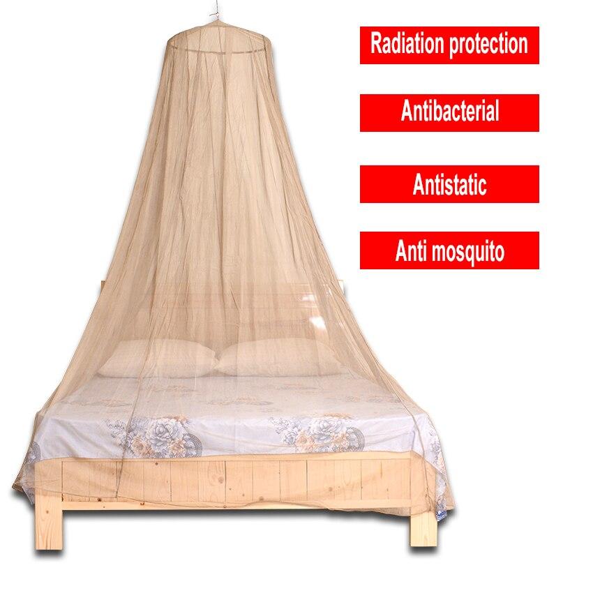 Dossel da cama da proteção do emf da fonte de yuheng para a única cama/material de proteção para a cama do rei