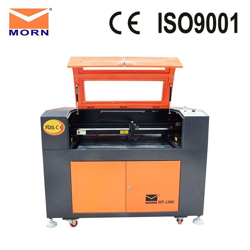 MORN хорошее качество CO2 лазерный гравировальный станок для резки 6090 9060 лазерный гравер резак с системой управления Ruida