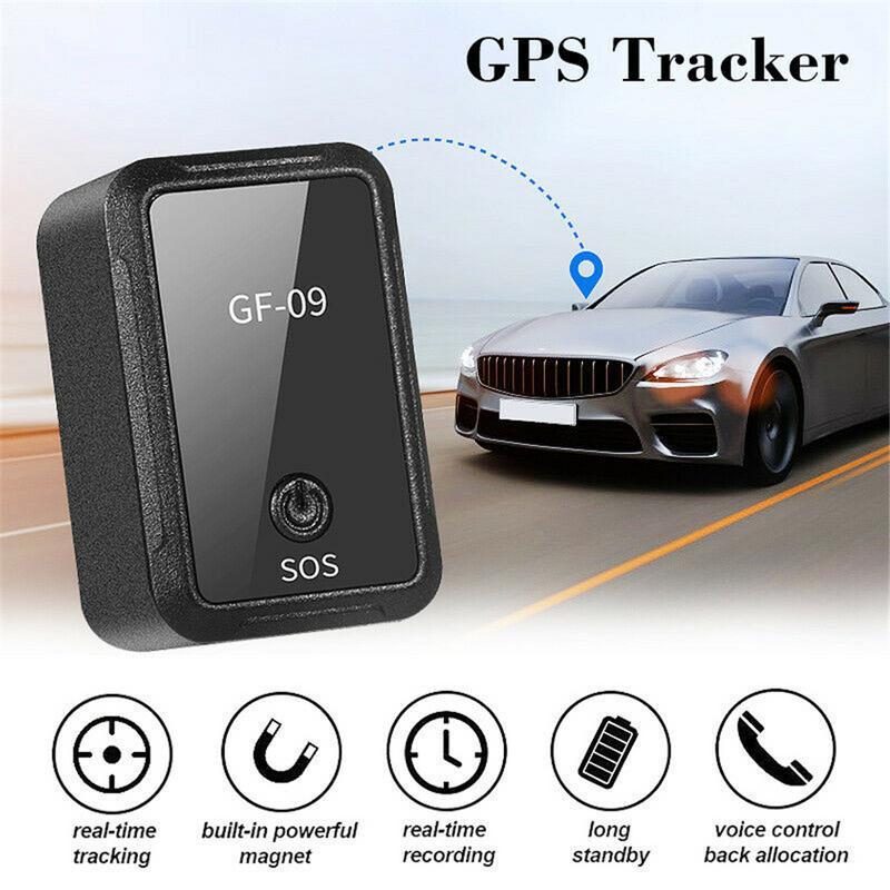Neue GF-09 Mini GPS Tracker APP Control Anti-Diebstahl Gerät Locator Magnetische Voice Recorder Für Fahrzeug/Auto/ person Lage