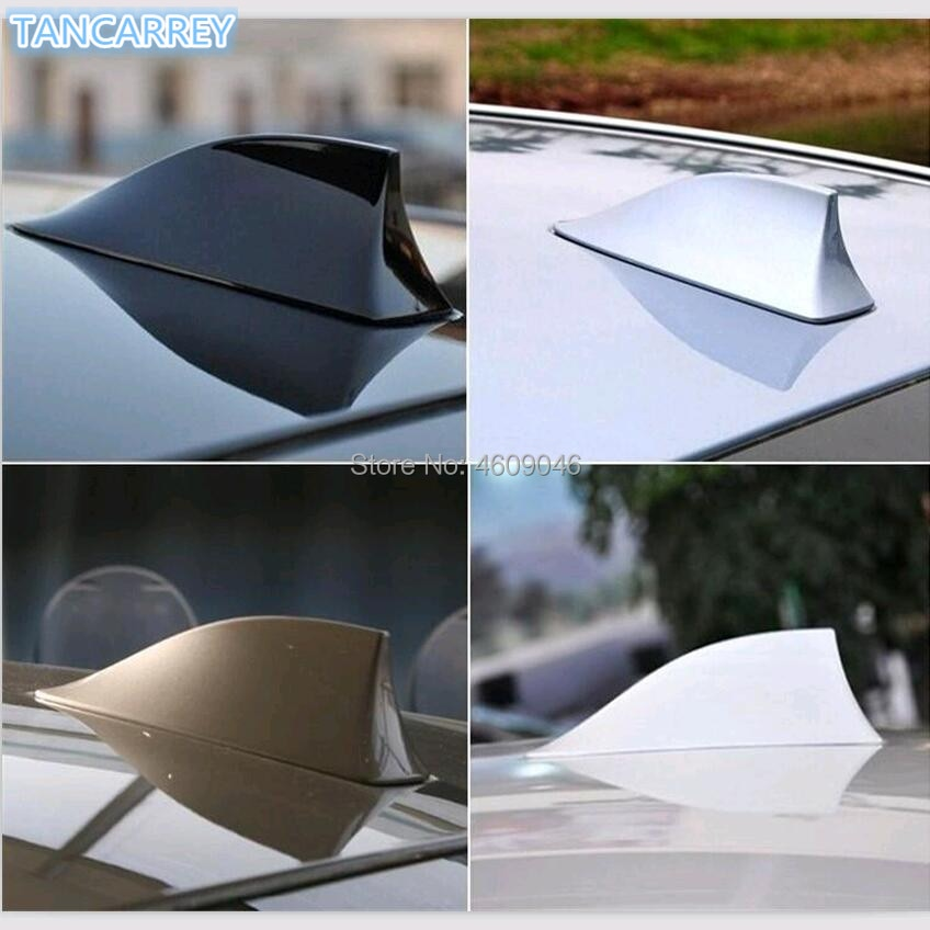 Antenas de señal de coche alerón con forma de aleta de tiburón para SUBARU Xv Forester 2016 impreza interior sti legacy VW POLO PASSAT JETTA GOLF Skoda