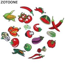 Zotoone vestido bordado com aplique, enfeite de abacaxi melancia frutas e vegetais, vestido para camiseta