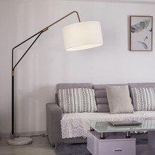 Nordic LED Marble Floor Lamps Bedroom Living Room Restaurant Lighting Decor Floor Lights Bedside Standing Lights Standing Lamps