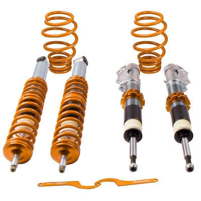 Suspension Coilovers For VW Polo 6N2 99-02 1.4 petrol Adj. Coilover Suspensions Lowering Kit