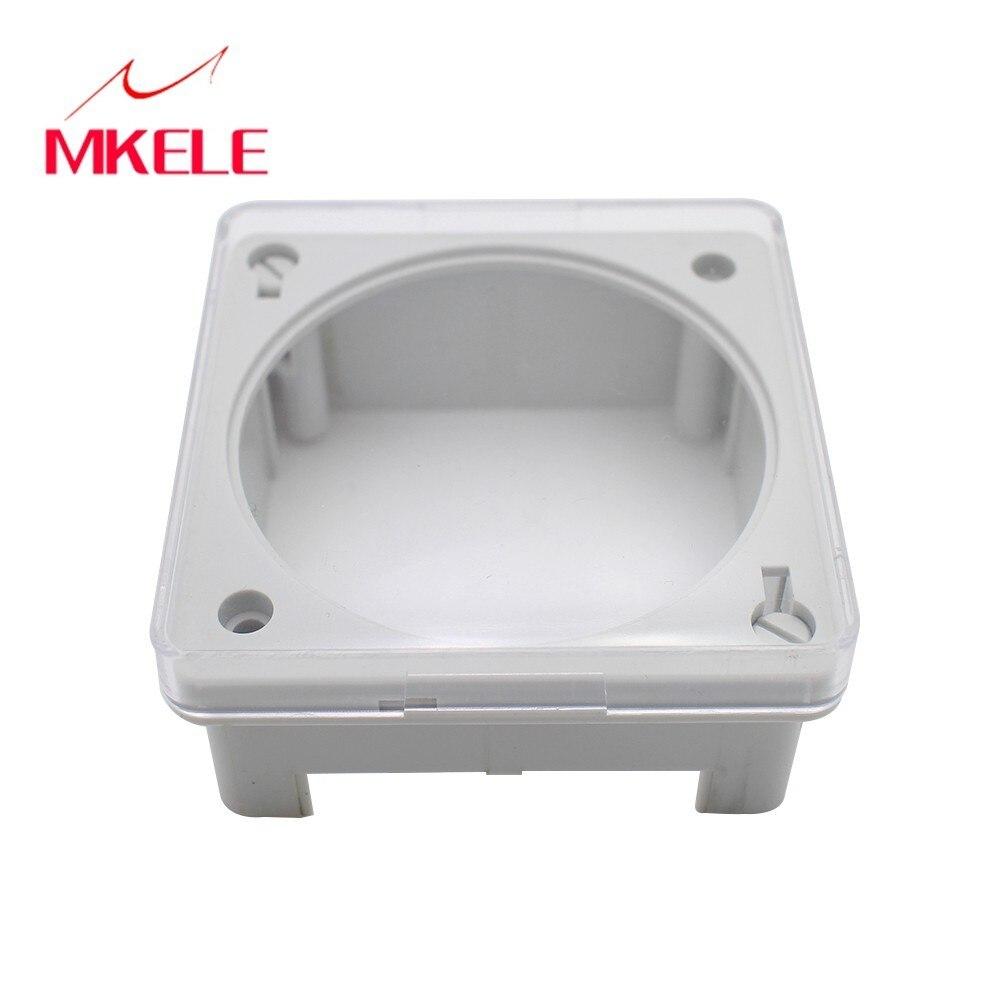 MKELE, la carcasa del Mini interruptor de tiempo, control de interruptor de relé, temporizador, interruptor MK-Shell (CN101A), temporizador electrónico LCD Digital