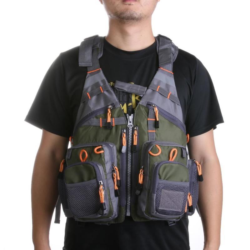 Спасательный жилет для спорта на открытом воздухе рыбалки рюкзак дышащий