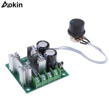 Yükseltilmiş 12-40 V 10A DC motor Pompası Hız Kontrol Cihazı