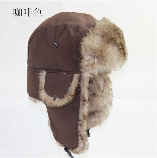 Mens Women Unisex Warm Trapper Aviator Trooper Earflap Winter Flaps Ski Hat New Bomber Hats