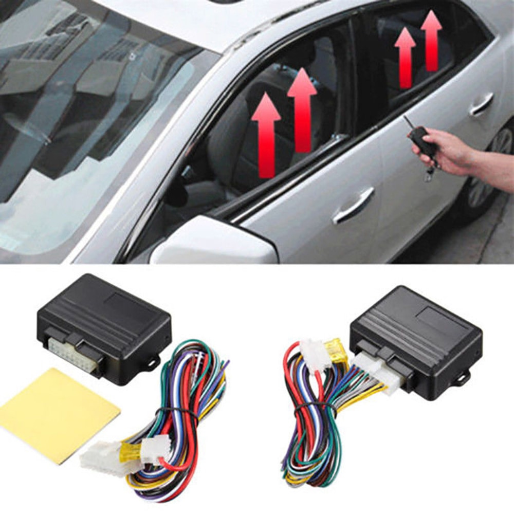 Univesal 12V Automatic 4-door Useful Car Window Closer Module Auto Security System Kit Car Accessories
