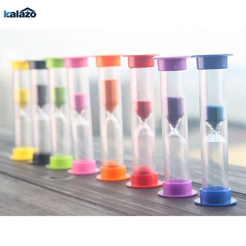 1 minutos/2 minutos/3 minutos colorido ampulheta areia areia relógio temporizadores areia temporizador 5 cores para escolher