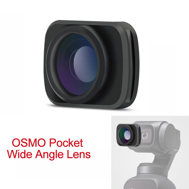 Lente de cámara de gran angular portátil OSMO Pocket Mini/lente Macro para accesorios de lente de cámara magnético DJI OSMO Pocket