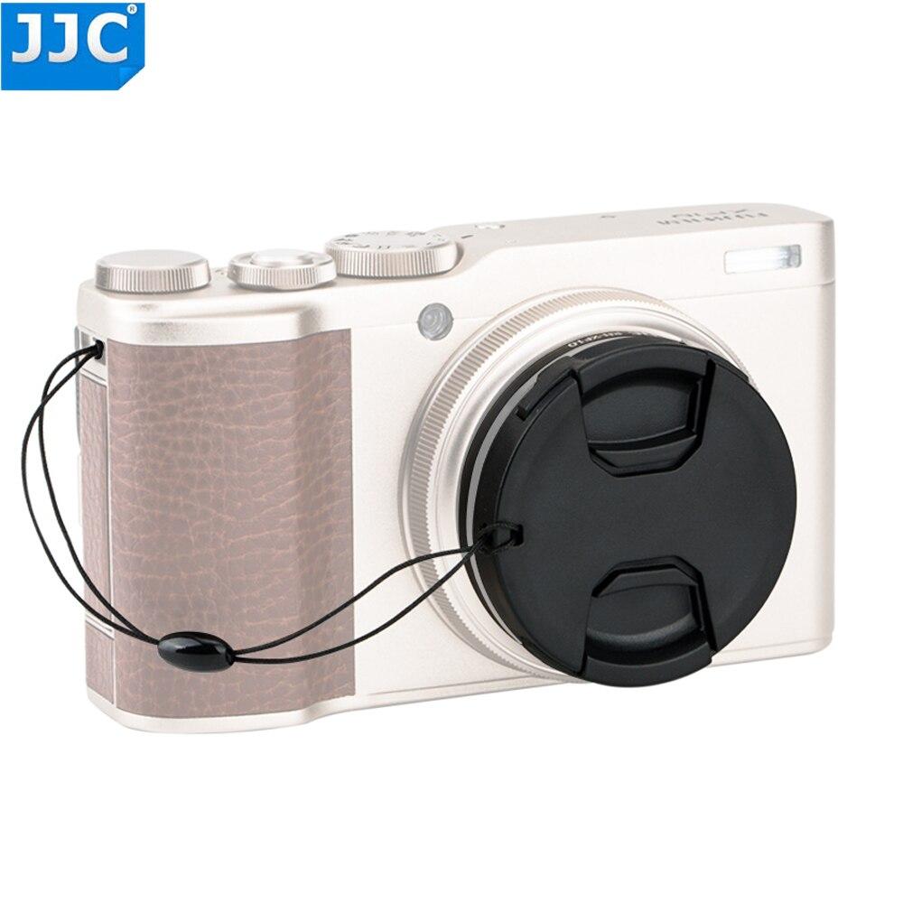 Adaptador de filtro JJC CPL NDV y tapa de lente de 46mm con protector para cámara Fujifilm XF10 permite poner en extra 46mm filtro
